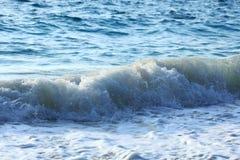 Sea foamy wave Stock Photo