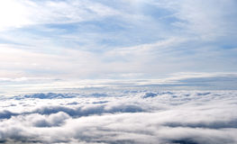 Sea of fog, Amazing view from Phutubberk, Thailand Stock Photos