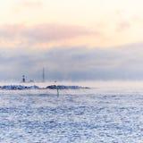 Sea Fog Stock Image