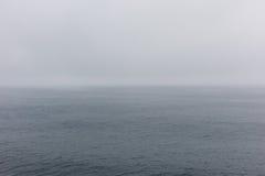 Sea Fog. Of the coast Stock Photography