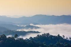 The sea of fog Royalty Free Stock Photo