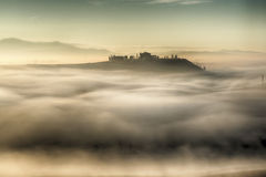 Sea of Fog Royalty Free Stock Images