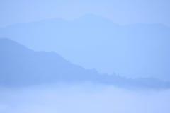 Sea Fog. Pa nern tung km 36 Viewpoint sea fog kang kra jan thailand national park stock images
