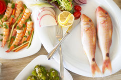 Sea food Stock Photos