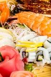 Sea food combination Stock Photo