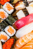 Sea food combination Royalty Free Stock Images