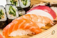 Sea food combination Royalty Free Stock Photos