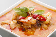 Sea food curry royalty free stock photography