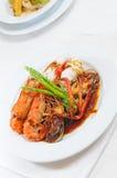 Sea food dish Royalty Free Stock Photo