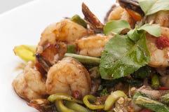 Sea food divel closeup shot Stock Photos