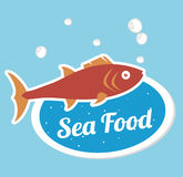 Sea food gastronomy Stock Photography
