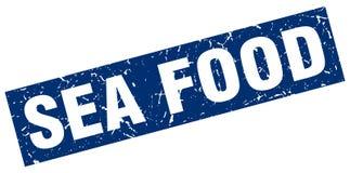 Sea food stamp. Sea food grunge vintage stamp isolated on white background. sea food. sign royalty free illustration
