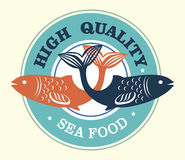 Sea food high quality Royalty Free Stock Images