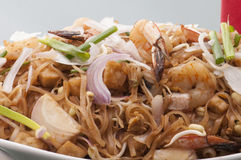 Sea food kottu Royalty Free Stock Photos