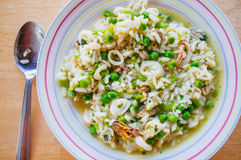 Sea Food Mix Risotto Stock Photos