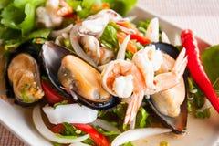Sea food mix yummy Stock Photo