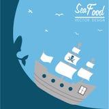 Sea food Stock Photography