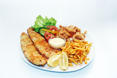 Sea Food Platter Royalty Free Stock Photo