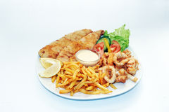 Sea Food Platter Stock Photo