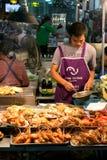 Sea food restaurant in Thailand Stock Image