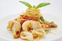 Sea food stock image