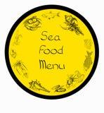Sea food set menu Stock Photography
