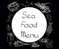 Sea food set menu Stock Photo