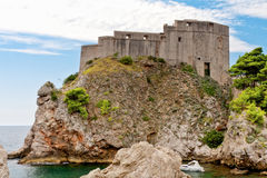 Sea fort, Dubrovnik, Croatia Stock Photography