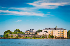 Sea Fortress. Residential Building At Suomenlinna In  Helsinki, Stock Photography
