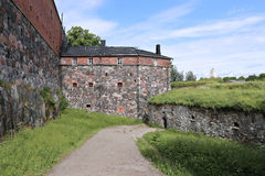 The sea fortress of Suomenlinna Stock Images