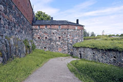 The sea fortress of Suomenlinna (Sveaborg) in Finland Royalty Free Stock Photo