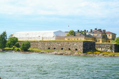 Sea fortress of Suomenlinna Royalty Free Stock Images
