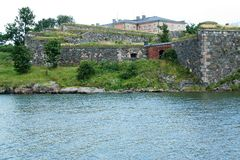 Sea fortress of Suomenlinna royalty free stock photos