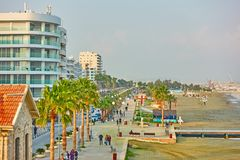 Sea-front in Larnaca