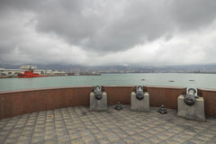 Sea-front of Novorossiysk , Russia Stock Photo