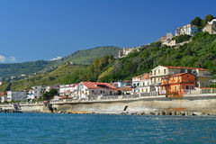 Sea front. A photo of a sea front village in italy Royalty Free Stock Image