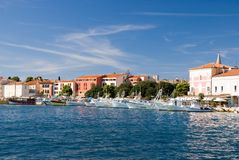 Sea-front of Porec. Croatia Royalty Free Stock Images