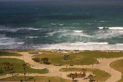 Sea Front Promenade in Tel Aviv Royalty Free Stock Photography