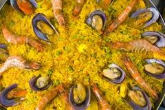 Sea Fruit Rice Stock Photo