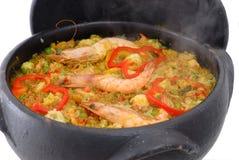Sea fruits Rice Royalty Free Stock Photos