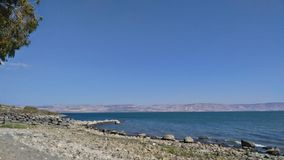 Sea of Galilee. Beautiful pictures taken in Israel Stock Images