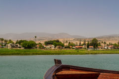 Sea of Galilee, Israel, view from boat Stock Photos