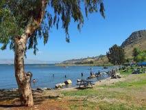 Sea of Galilee Royalty Free Stock Photos