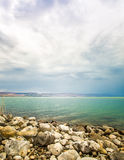 The Sea of Galilee landscape Royalty Free Stock Photography