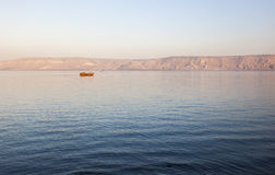 Sea of Galilee. Lower Galilee. Israel. Stock Photos