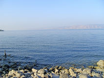 Sea Of Galilee. Taken from north part near Capernaum Israel Stock Image
