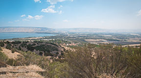Sea of Galilee . Stock Photo