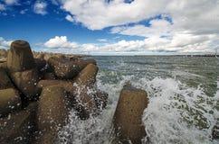 Sea gate Stock Image