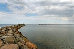 Sea gate. Stock Photos