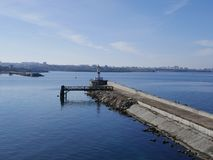 Sea gate of Sevastopol. royalty free stock images